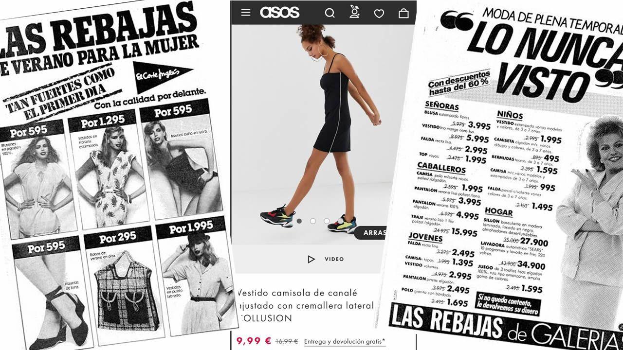 07a61a1daa Comprar moda hoy es más barato que en las mejores rebajas de hace 40 años